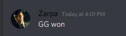 gg won